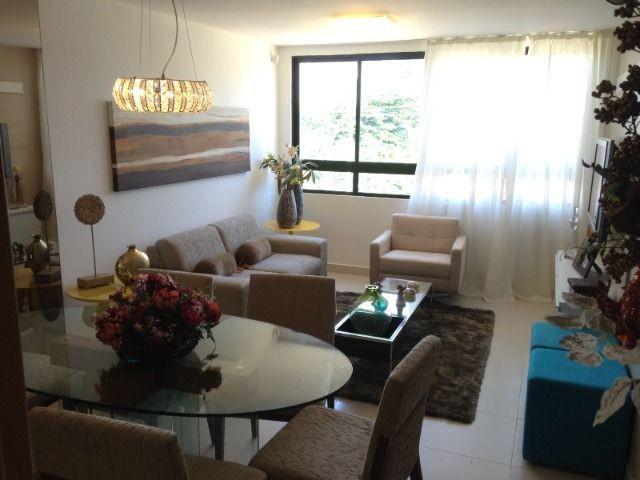 Apto no Miramar, 3 quartos, 2 vagas de garagem, Nascente