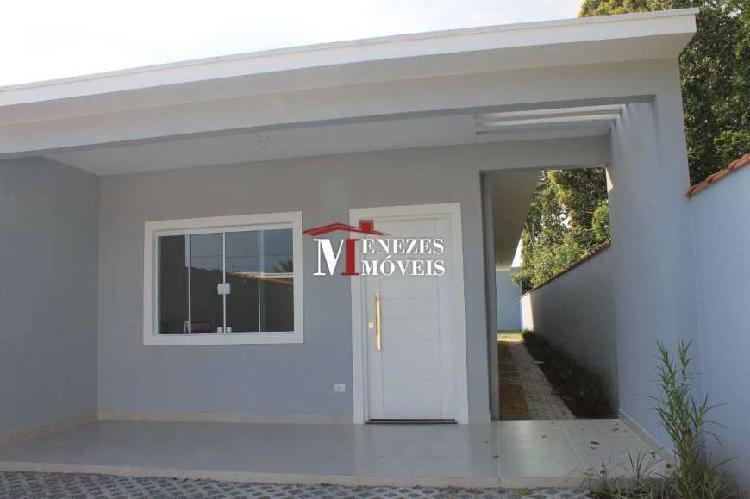 Casa Nova térrea a venda em Bertioga - bairro Indaia Ref.