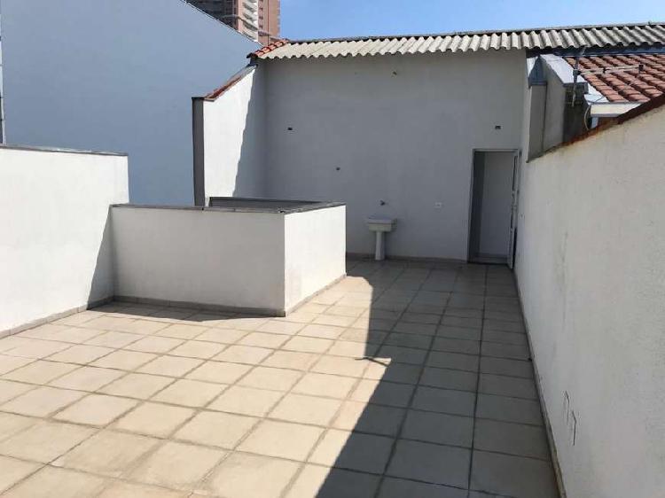 Cobertura para venda tem 125 metros quadrados com 2 quartos