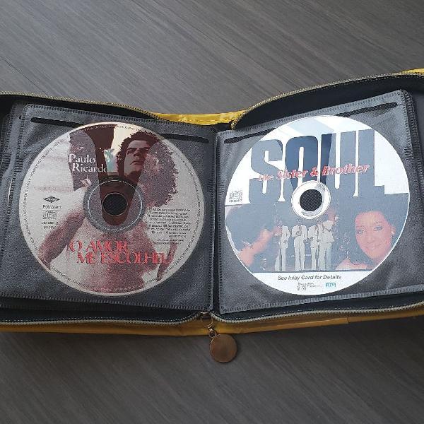 Kit com 15 CDs de música