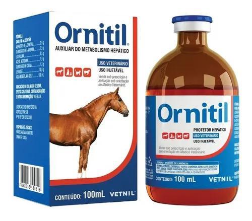 Ornitil 100 Ml - Vetnil (Protetor Hepático Caes, Equinos)