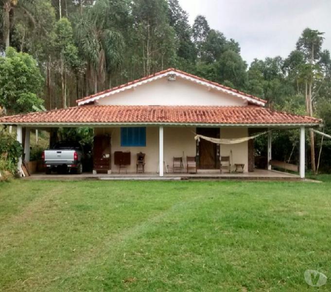 Sítio 48.000 m² Santa Isabel próx Represa 375 mil