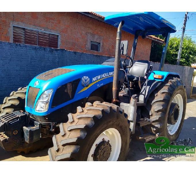 Trator New Holland TL 85 E 4x4 (Com Reversor - Único Dono!)