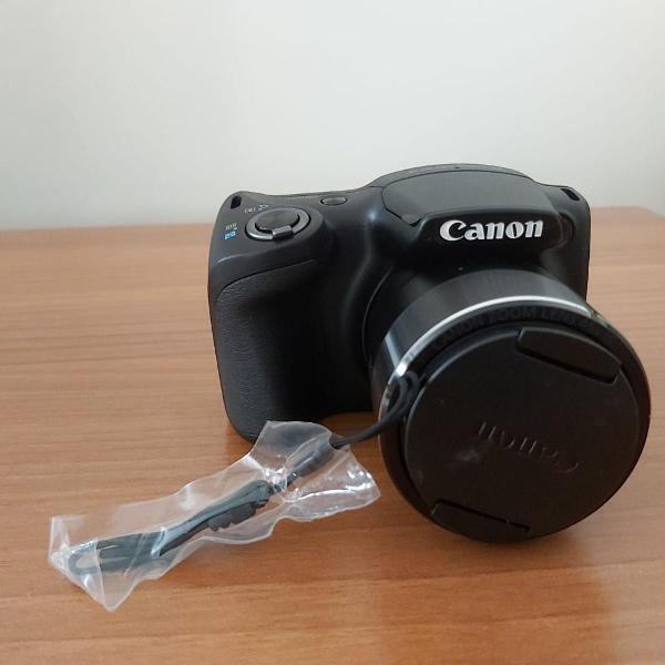 câmara canon powershot sx430 is preta + cartão de memória