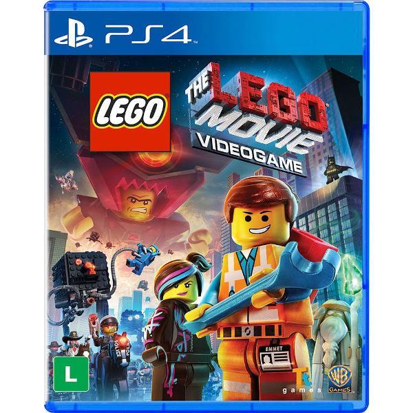 lego the lego movie videogame - ps4 - novo - mídia física