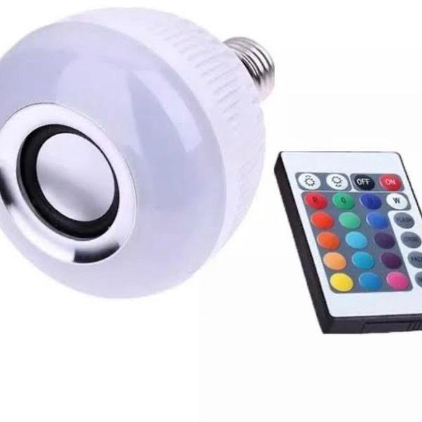 lâmpada de led colorida