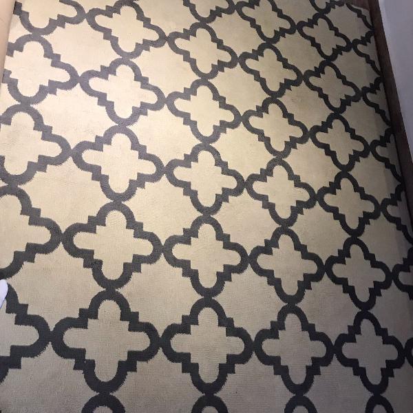 tapete são carlos 2 por 2,5 lindíssimo moderno novíssimo