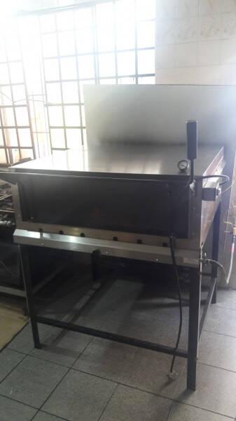 Maquina de frango e forno Pizza a gás
