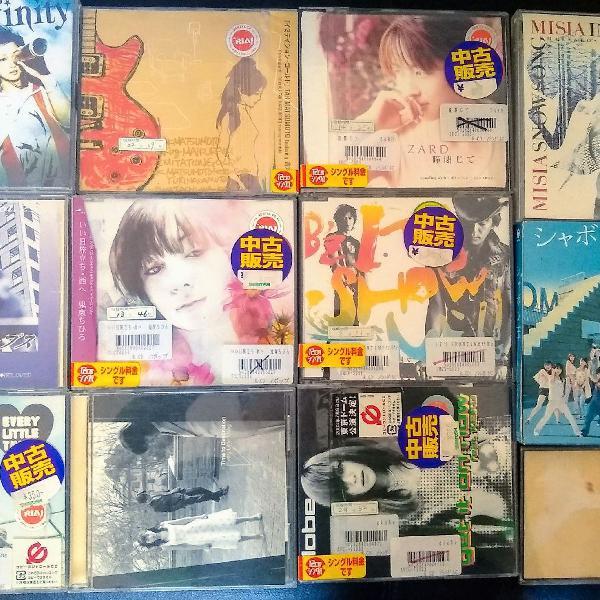 12 cd's Jpop Originais Made in Japan
