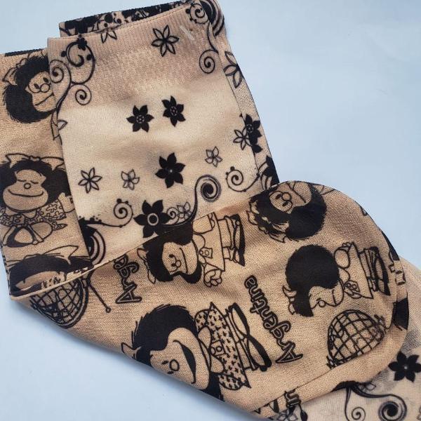 2 pares de meias de seda italiana