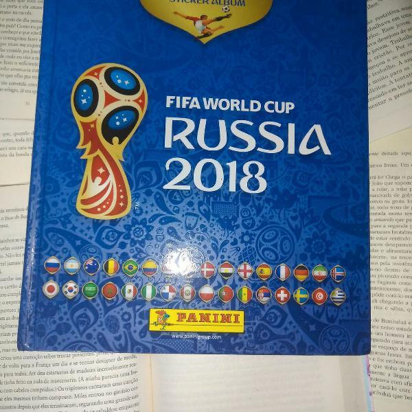 Album de figurinha da Copa 2018