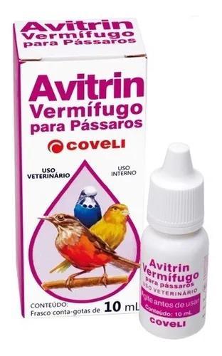 Avitrin Vermífugo 10 Ml - Coveli
