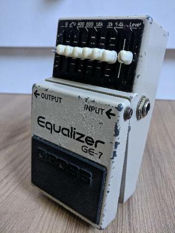Boss Equalizador Ge-7 | Made In Japan