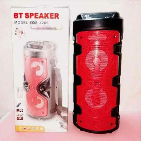 Caixa de Som Portátil ZQS-4209 Bluetooth /USB /FM