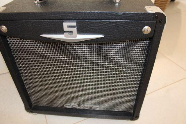 Cubo Amplificador Crate V5 para Guitarra e Violão