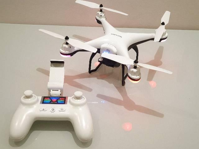Drone Multilaser Fênix Gps alcance 300 mt- ES204