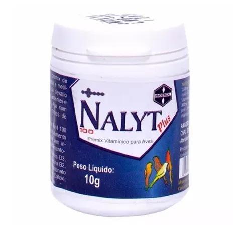 Nalyt 100 Plus 10 G - Amgercal Original Kit 03 Potes