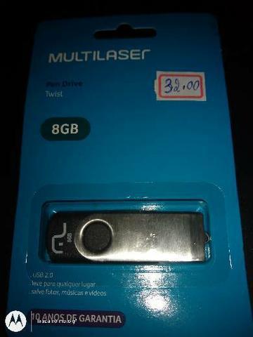 Pen driver Multilaser 8 GB