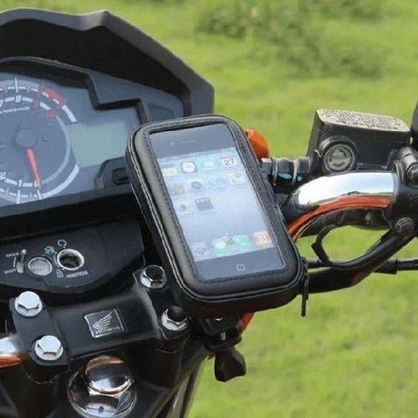 Suporte Moto Bike Knup Case Capa para Celular Smartphone Gps