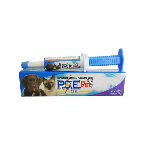 Vitamina P.s.e Pet Alivet - Rep. Minerais - Cães/gatos -