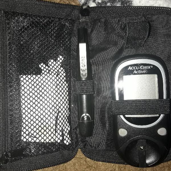 aparelho de glicose accu check
