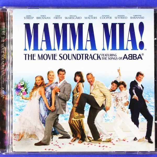 cd . mamma mia . the movie soundtrack . songs of abba 2008