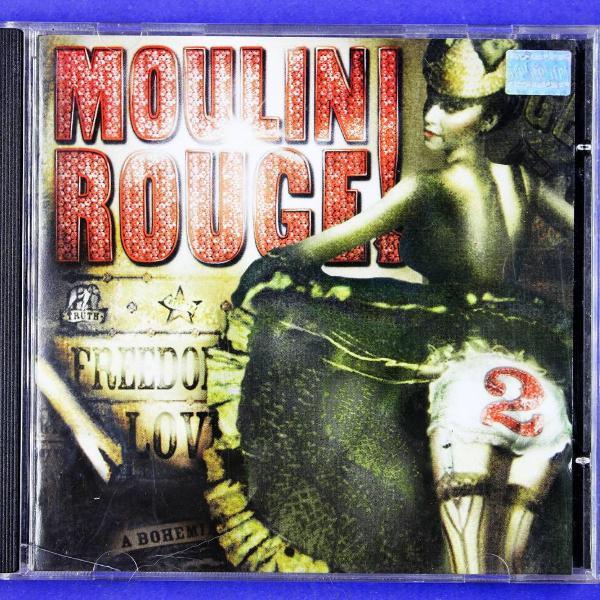 cd . moulin rouge 2 . soundtrack . baz luhrmann 2002