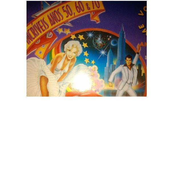 "cd ""os incríveis anos 50, 60, 70""!"