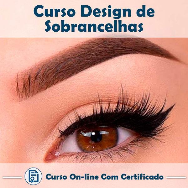 curso online de design de sobrancelhas com certificado
