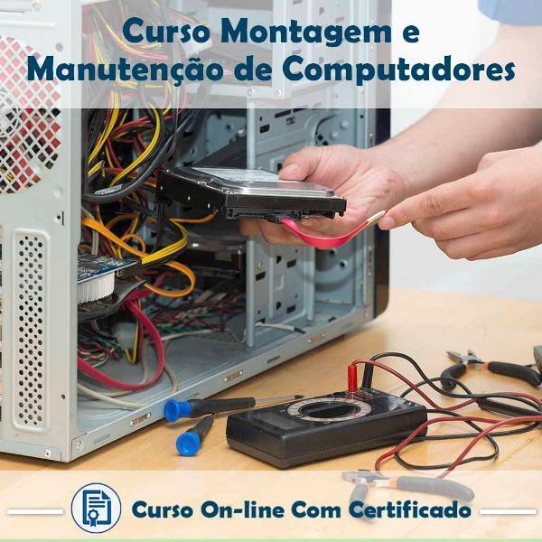 curso online de montagem e manutenção de computadores com