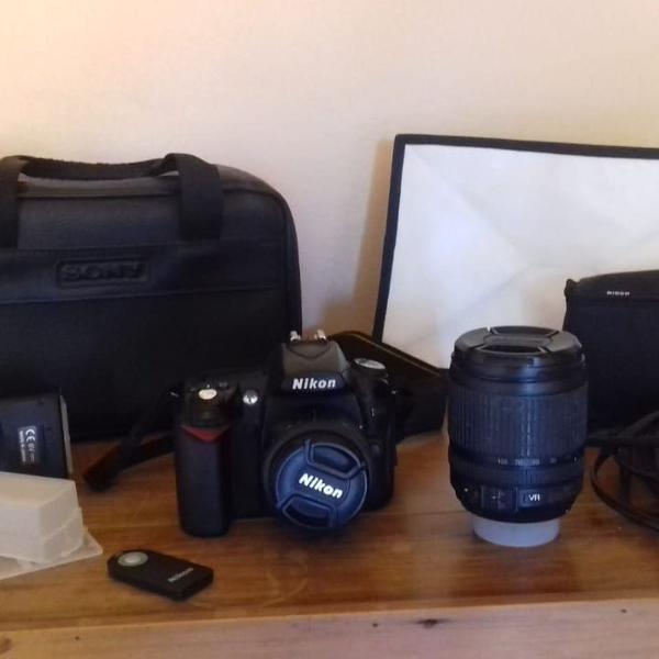 kit câmera profissional nikon d90(lente 50mm e 18-105)