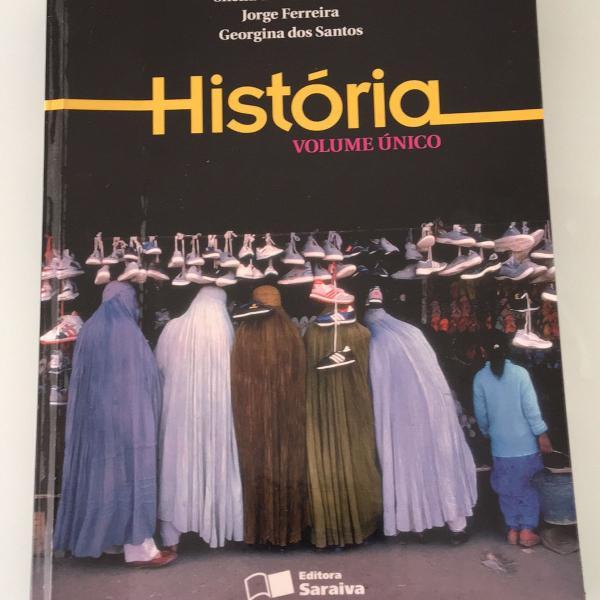 livro didático história ensino médio