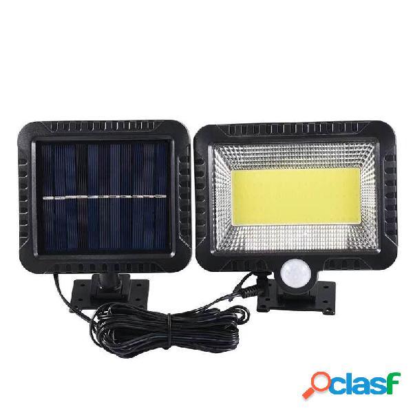100LED Solar PIR Luz de parede de movimento COB Outdoor