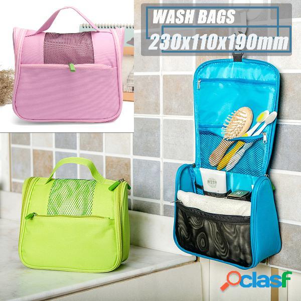 3 cores de viagem multi-função de lavagem Bolsa portátil
