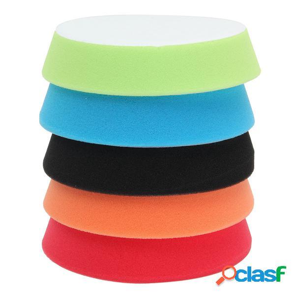 5Pcs Esponja de polimento de depilação de polimento Kit de