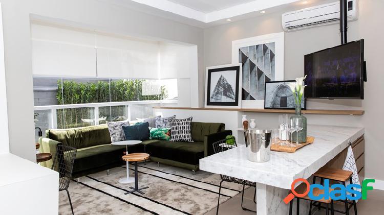 Apartamento para venda possui 66m² com 2 quartos e 2 vagas