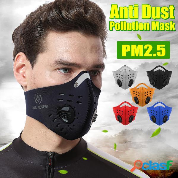 BIKIGHT Face Máscara Meio filtro de poluição anti poeira