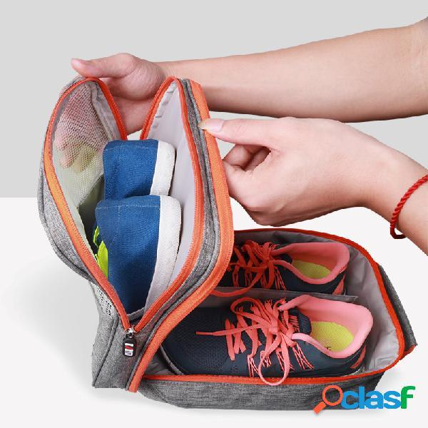 BUBM TXD-M Saco de Sapatos Organizador de Viagem Portátil