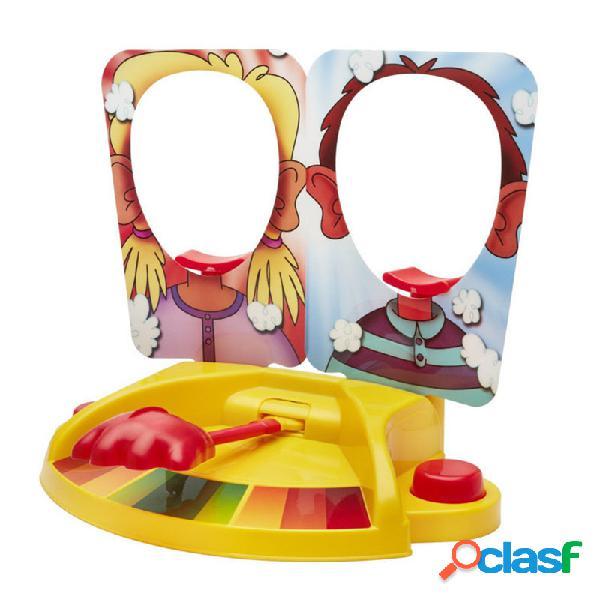 Double Cream Hit Face Smashing máquina Toy Fun Gadget para