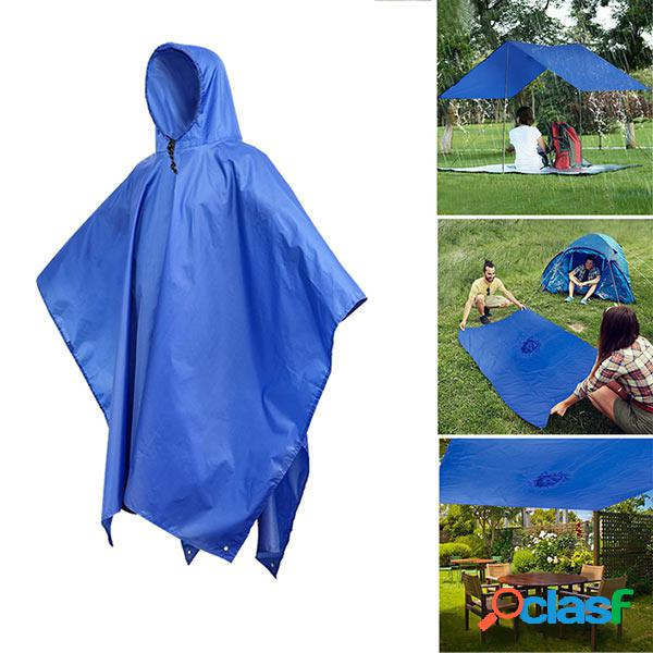 KCASA KC-RC042 3 em 1 Travel Waterproof Poncho Outdoor