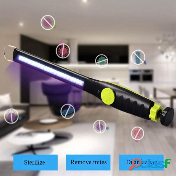 Lâmpada de esterilização recarregável portátil USB UV
