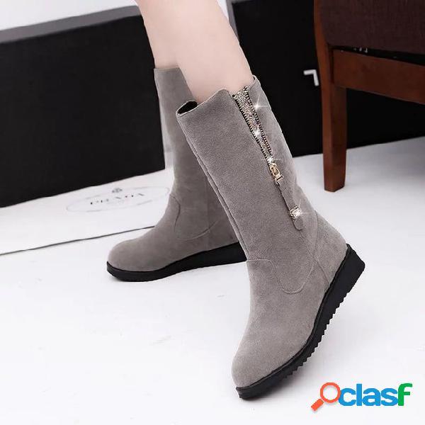 Moda Sapatos Femininos Europa E Nos Estados Unidos New Side