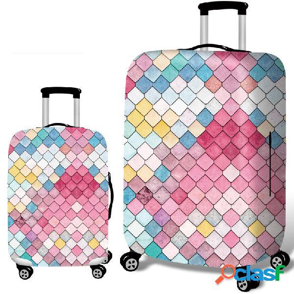 Protetor durável da mala de viagem da tampa elástica da