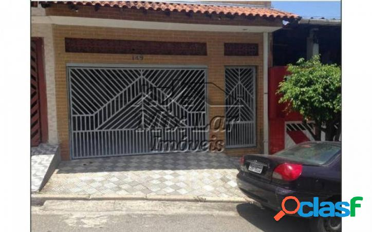 REF 162895 - Casa Sobrado no bairro Jardim Veloso - Osasco -