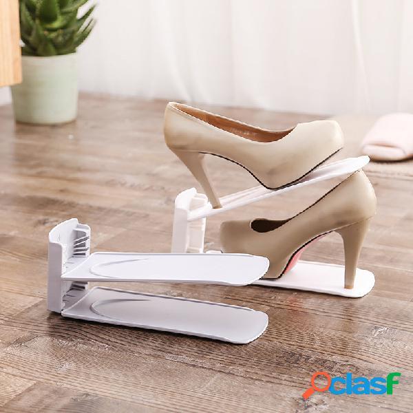 Suporte de sapata simples ajustável de camada dupla Suporte