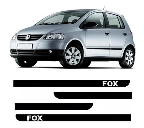 Jogo De Friso Lateral Borrachão Vw Fox 2003 Á 2008 2009 20