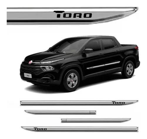 Kit Friso Cromado Fiat Toro 2016 2017 2018 Lateral 4 Portas