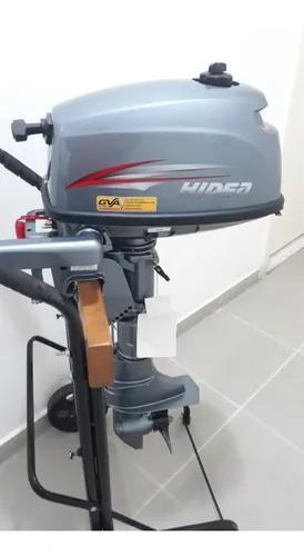 Motor De Popa 5 Hp Hidea 2t (Parcelado S