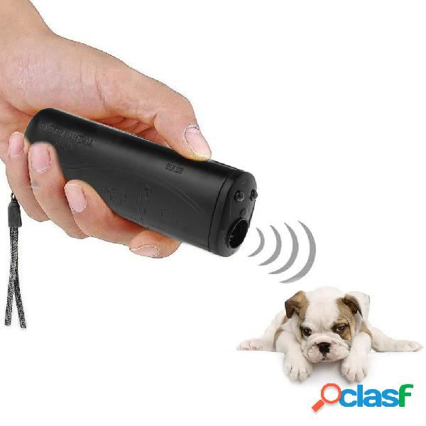 3 Em 1 Anti Barking Stop Bark Ultrasonic Pet Cachorro