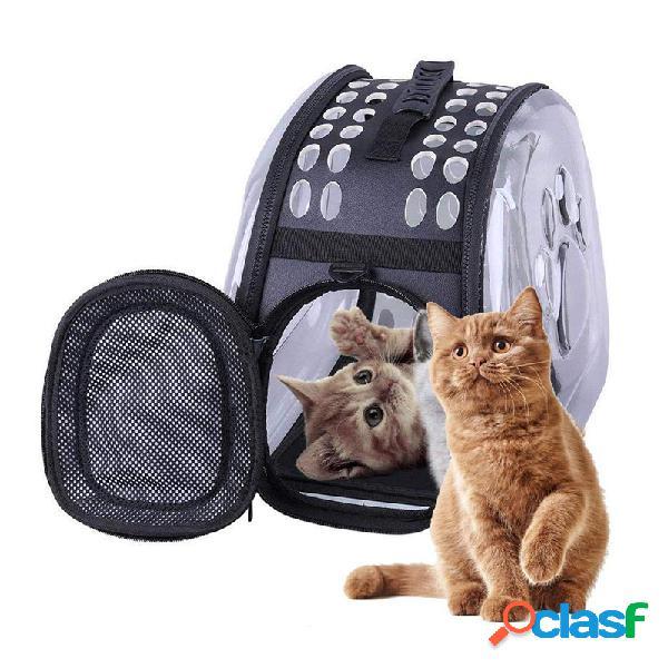 Universal Transparente Pet Gato Filhote De Cachorro Portador